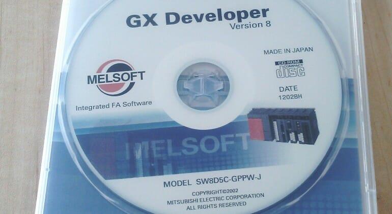 GX DeveloperのCD